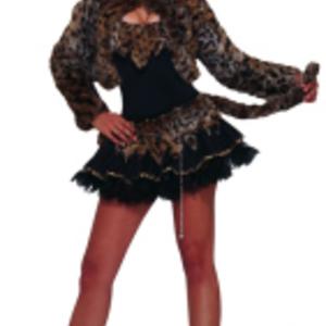 Jättesexig leopardjacka