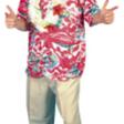 Hawaiiskjorta  blommig