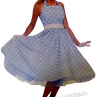 Klänning inspirerad från 50-talet