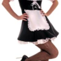 Klassiskt sexig maid-dräkt
