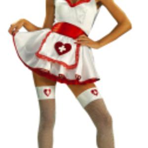 Sexig lyxsjuksköterska