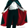 Dracula cape  satin