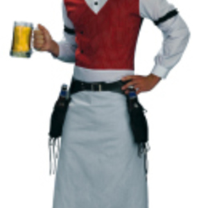 Lustig bartender-dräkt