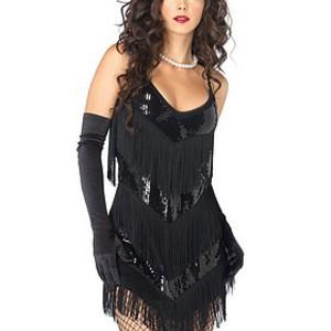 Fräck, sexig klänning med inspiration från 20-talet