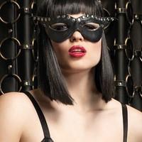 Tuff, bondage-inspirerad ögonmask