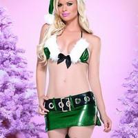 Sexiga, tomtenisse-inspirerade underkläder