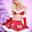 Sockersöt jul-dräkt för henne