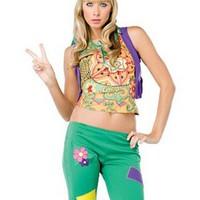 Snygg, enkel hippie-dräkt för henne