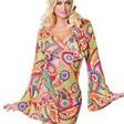 Fin, annorlunda hippie-klänning
