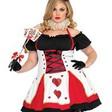 Sexig, plus sized spelkorts-klänning