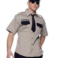 Sexig polisskjorta för honom