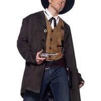 Stentuff sheriff-kostym för honom