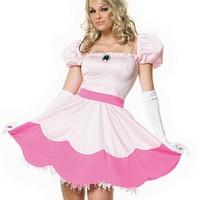 Sockersöt prinsessklänning
