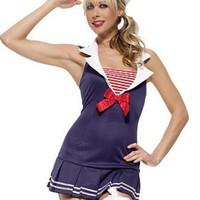 Söt sailor-dräkt