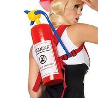 Brandsläckare till brandmans-looken