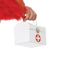 Sockersöt första hjälpen-väska för sjuksköterskan