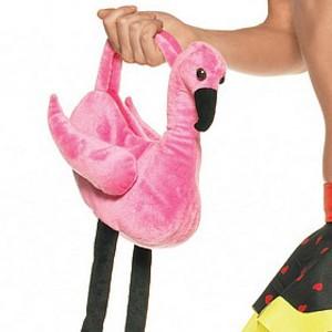 Dundersöt flamingoväska