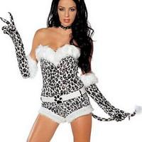 Sexig snöleopard