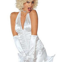Lyxig Marilyn Monroe-dräkt