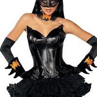 Otroligt sexig Batgirl-dräkt