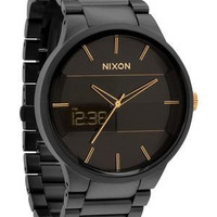 Nixon The Spencer Matte Black / Gold