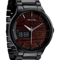Nixon The Spencer Dark Wood / Black