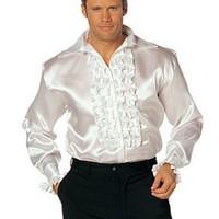 Sexig skjorta med krås