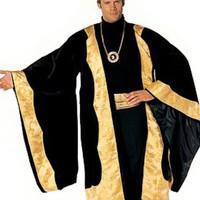 Spektakulär kung-dräkt