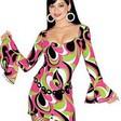 Tuff klänning inspirerad av 70-talet