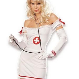 Dundersexig sjuksköterska-dräkt
