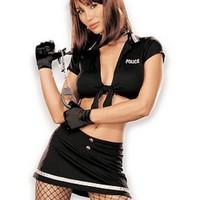 Extremt sexig polisdräkt för henne