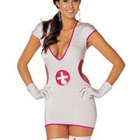 Förförisk sjuksköterska-dräkt