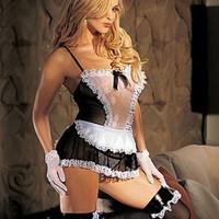 Sexiga french maid-underkläder