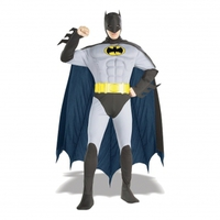Batman med Muskler Maskeraddräkt