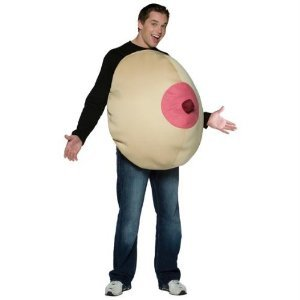 Giant Boob Halloween Costume