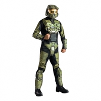 Master Chief Halo Deluxe Maskeraddräkt