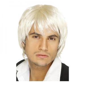 Pojkband Blond Peruk