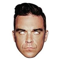 Robbie Williams Pappmask