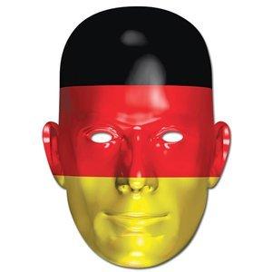 Ansiktsmask tyska flaggan